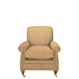 Finest Bloomsbury Made to Order Club Hopsack Chair, Oatmeal Reviews