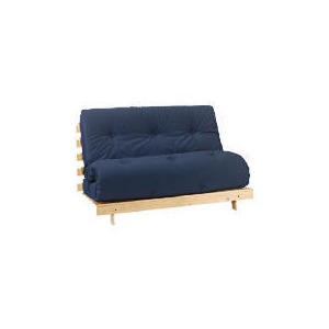 Photo of Helsinki Pine Futon, Blue Furniture