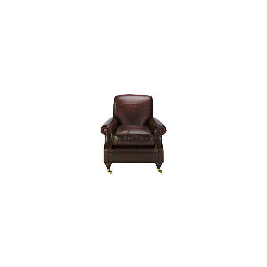 Finest Bloomsbury Made to Order Club Leather Chair, Antique