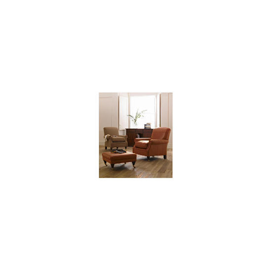 Finest Bloomsbury Made to Order Club Leather Chair, Cognac