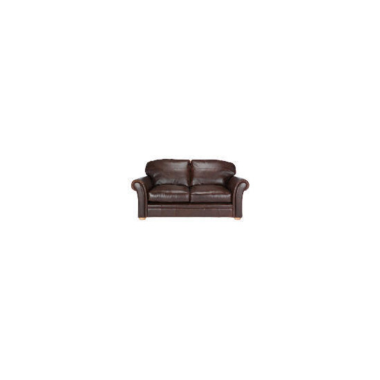Finest Chichester Made to Order Leather Sofa - Antique