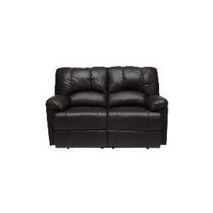 Photo of Harlowe Leather Recliner Sofa, Black Furniture