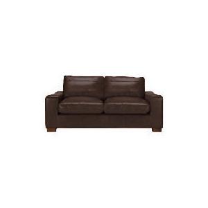 Photo of Finest Dakota Made To Order Leather Sofa, Chocolate Furniture