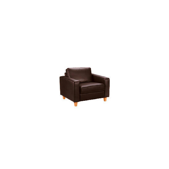 Italy Leather Chair, Brown
