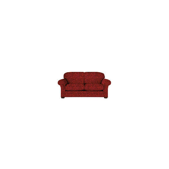 Finest Chichester Made to Order  Jacquard Sofa, Claret