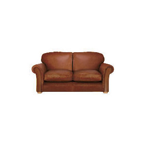 Photo of Finest Chichester Made To Order Large Leather Sofa, Cognac Furniture