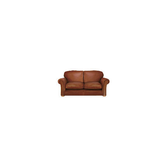 Finest Chichester Made to Order large Leather Sofa, Cognac