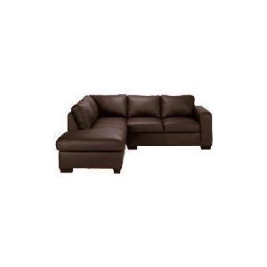 Photo of Aspen Left Hand Corner Leather Sofa, Brown Furniture