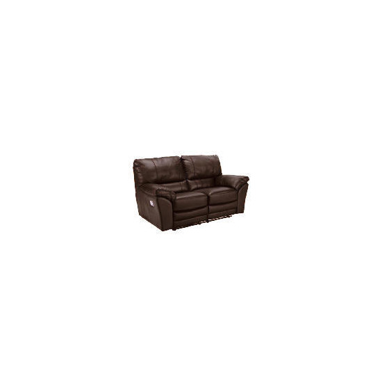 Madrid Leather Recliner Sofa, Brown