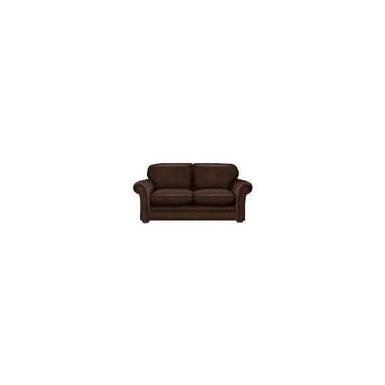 Finest Chichester Made to Order large Leather Sofa - Antique
