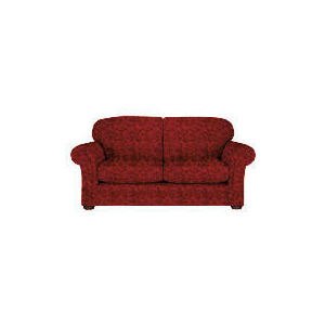 Photo of Finest Chichester Made To Order Large Jacquard Sofa - Claret Furniture