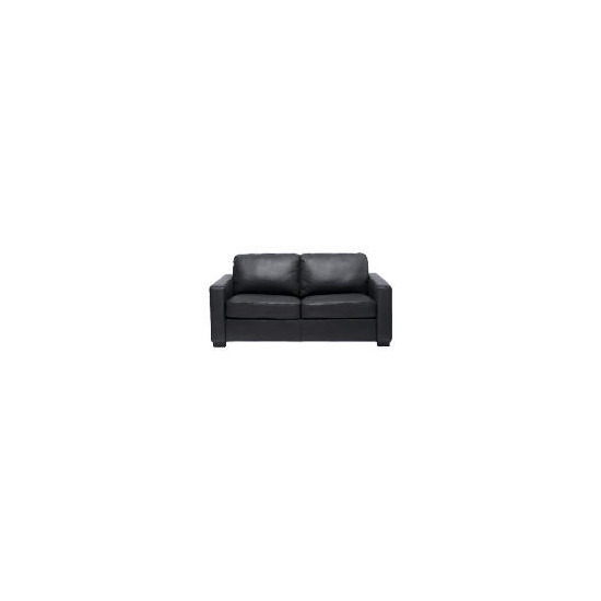 Colorado Leather Sofa Bed, Black