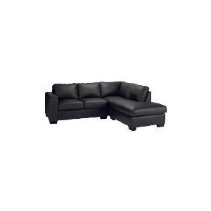 Photo of Aspen Right Hand Corner Leather Sofa, Brown Furniture