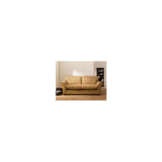 Finest Chichester Made to Order large Jacquard Sofa, Gold