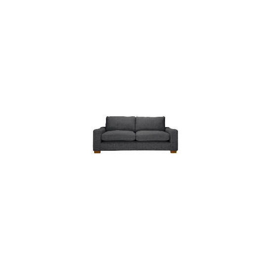 Finest Dakota Made to Order large Chenille Sofa - Slate
