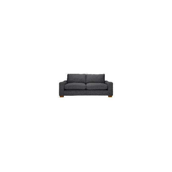 Finest Dakota Made to Order large Chenille Sofa - Slate