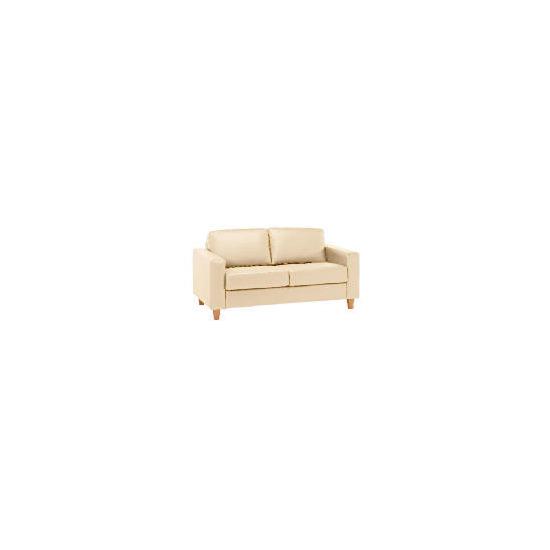 Italy Leather Sofa, Ivory