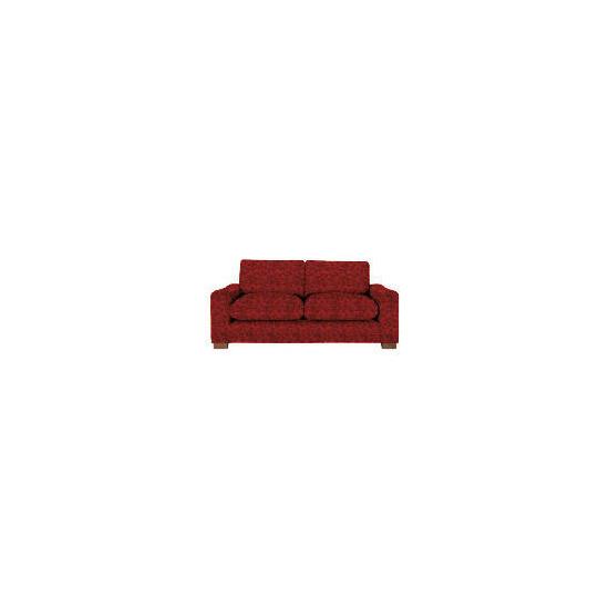 Finest Dakota Made to Order Jacquard Sofa, Claret