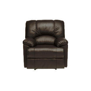 Photo of Harlowe Leather Recliner Chair, Black Furniture
