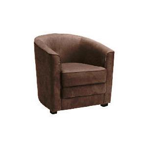Photo of Miami Fabric Chair, Brown Furniture