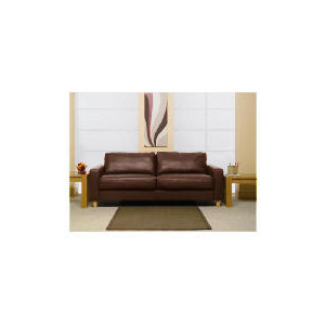 Photo of Italy Large Leather Sofa, Brown Furniture