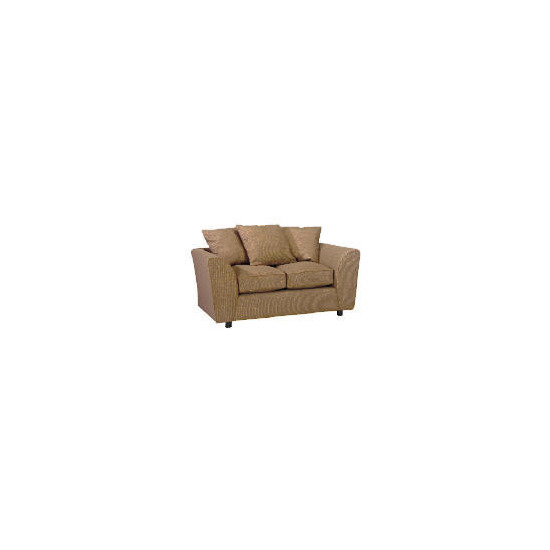 Enna Fabric Sofa, Mocha