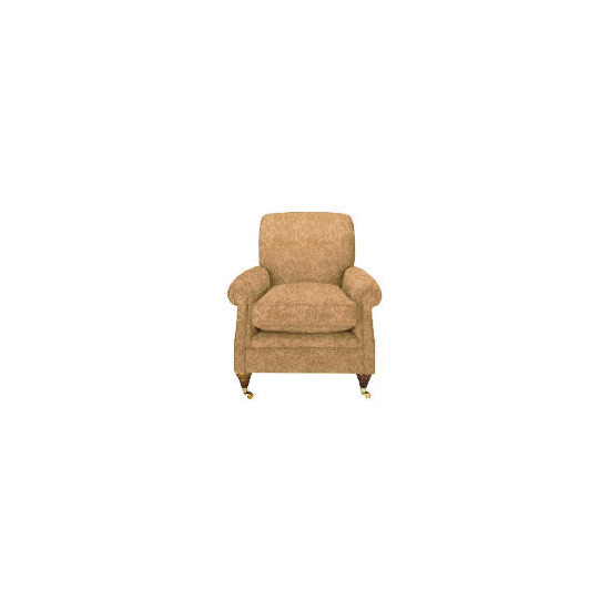 Finest Bloomsbury Made to Order Club Jacquard Chair - Gold