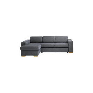 Photo of Mercer Chaise Left-Hand Facing  Sofa Bed, Slate Furniture