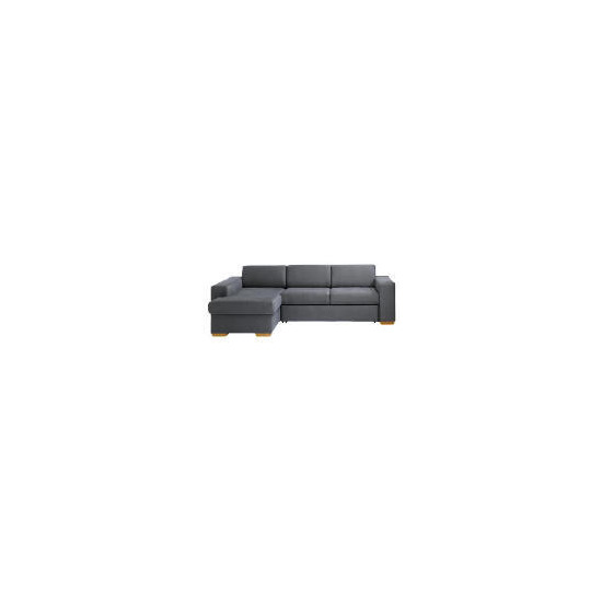 Mercer Chaise Left-Hand Facing  Sofa Bed, Slate