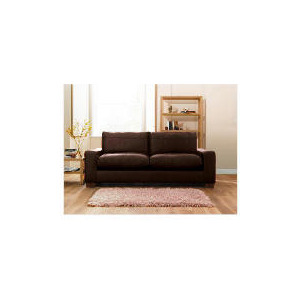 Photo of Finest Dakota Made To Order Large Leather Sofa, Chocolate Furniture