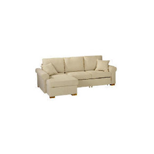 Photo of Chiswick Large Chaise Sofa Bed With Storage, Natural, Left Hand Facing Furniture