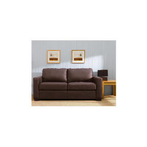 Photo of Colorado Leather Sofa Bed, Brown Furniture