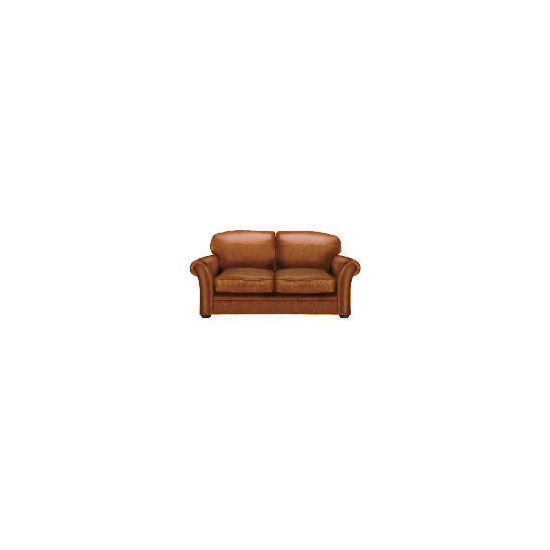 Finest Chichester Made to Order Leather Sofa - Cognac