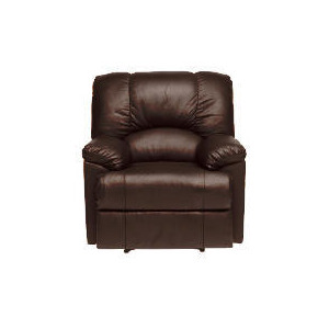 Photo of Harlowe Leather Recliner Chair, Brown Furniture