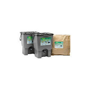 Photo of Kitchen Waste Composter Kit 18L (Double) Garden Equipment
