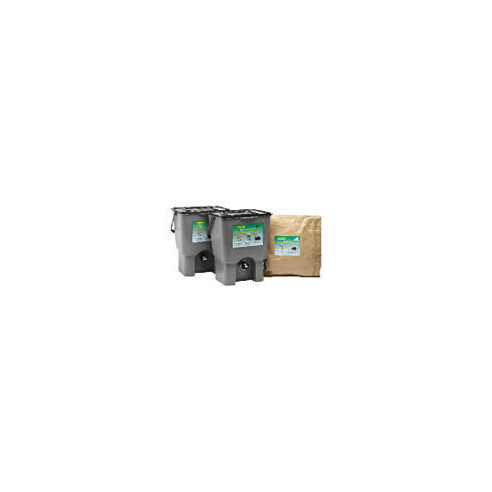 Kitchen Waste Composter Kit 18L (double)