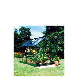 Halls 8 x 6 Green-frame Greenhouse Reviews