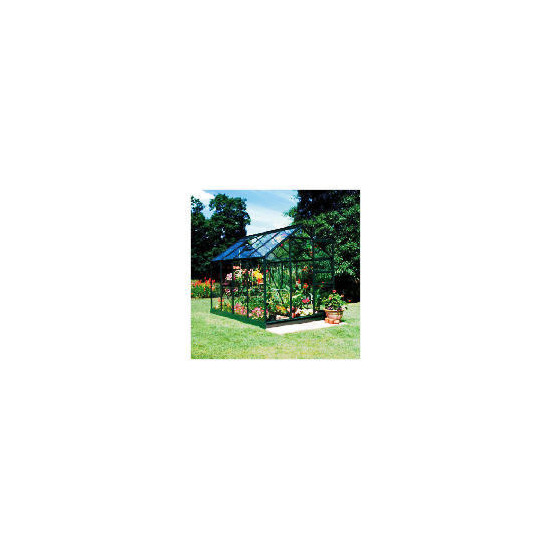 Halls 8 x 6 Green-frame Greenhouse