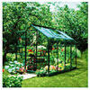 Photo of Halls 8 X 6 Supreme Green-Frame Greenhouse Shed