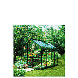 Halls 8 x 6 Supreme Green-frame Greenhouse Reviews