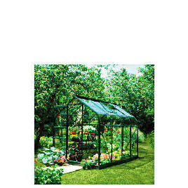 Halls 8 x 6 Supreme Green-frame Greenhouse Reviews