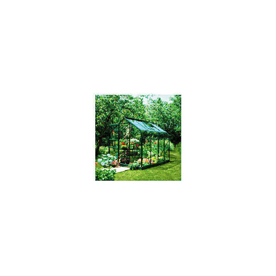 Halls 8 x 6 Supreme Green-frame Greenhouse