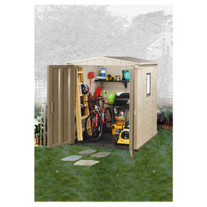 Photo of Keter 6' X 6' Plastic Apex Shed Shed