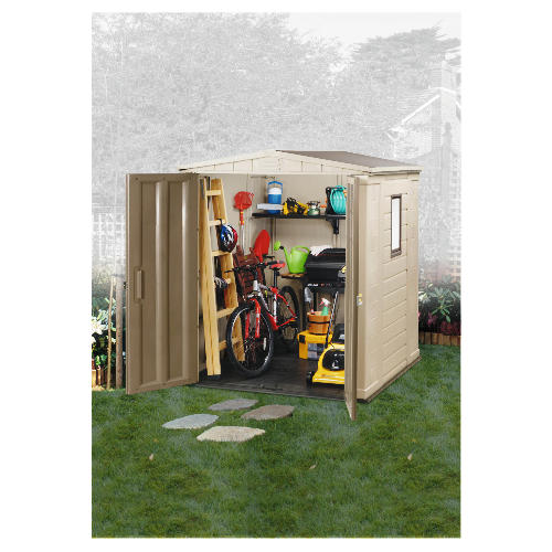 Keter 6 X 6 Plastic Apex Shed Reviews Compare Prices
