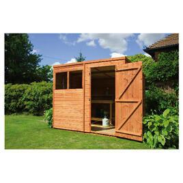 Walton 8' x 6' Wooden Shiplap  Pent Shed Reviews