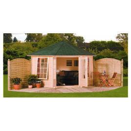 Finnlife Valo Wooden Corner Cabin Reviews