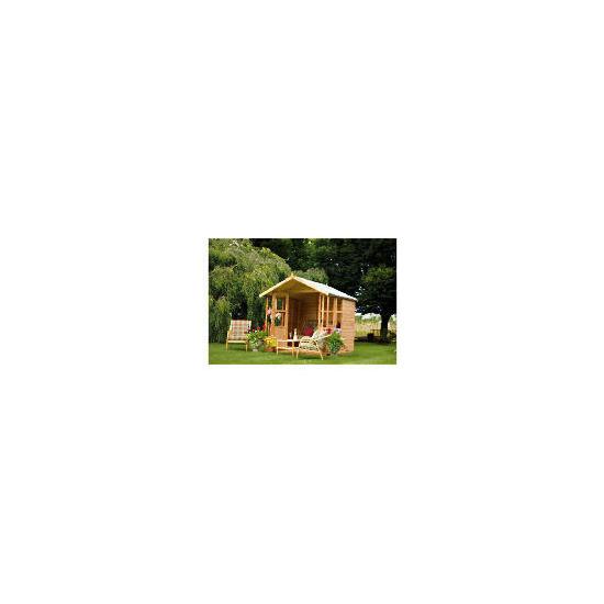 Walton Brighton  7' x 5' Wooden Summerhouse with Veranda