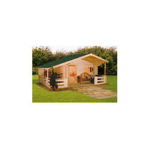 Photo of Finnlife Helppo Wooden Cabin Shed