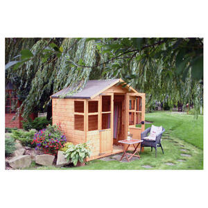 Photo of Walton Brighton 7' X 5' Wooden Summer House Shed