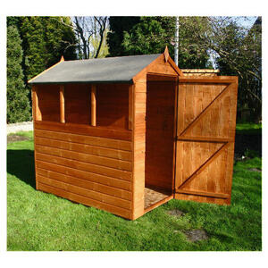 Photo of Walton 6X4 Wooden Shiplap Apex Shed Shed